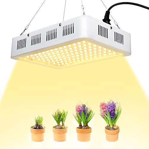 eecoo Led Pflanzenlampe 1200W Wachstumslampe Pflanzenlicht Full Spectrum LED Grow Light Pflanzenlicht für Innen Samen Knospe Pflanze Gemüse und Blume -