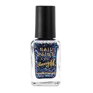 Barry M Cosmetics Glitter Nail Paint Amethyst Glitter 10ml