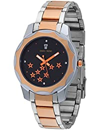 Swiss Trend Marvelous Rose Gold Chain Watches For Women - OLST2132