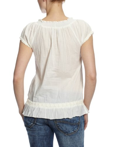 Replay w2614 .000.80754P chemisier pour femme Blanc - Weiß (011 off white)