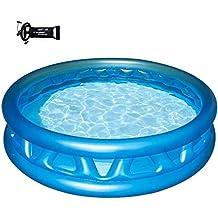 Thole Redondo Piscinas para NiñOs Inflables Familia Hinchables Juegos Juguetes Jardin PequeñOs Profundidad Bathtub 790 litros
