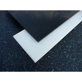 Black Acrylic XT Perspex sheet, 500 x 500 x 3 mm Plate cut black alt-intech®