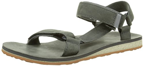 Teva M Original Universal Premium Leather, Men's Open Toe Sandals, Grey (Grey),...