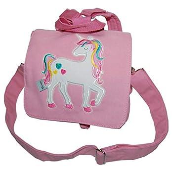 Rucksack/Kindergartentasche mit Einhorn in Regenbogenfarben – individuelle Anfertigung