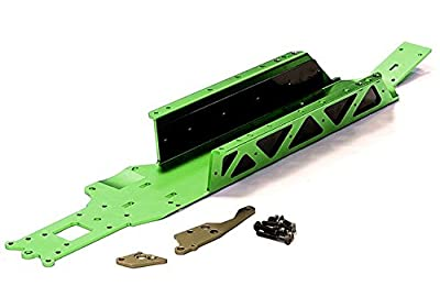 Integy RC Model Hop-ups BAJ236GREEN Type IV One Piece Modified Main Chassis Set for HPI Baja 5B2.0, 5T & 5SC from Integy