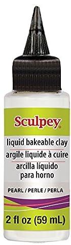polyforme Sculpey liquide 60ml Perle, acrylique, multicolore