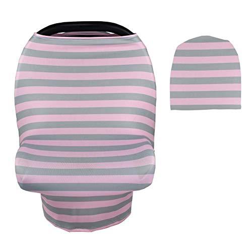Multiuse Weiche Baby-Autositz-Überdachung Und Pflege Decken Dehnbaren Stoff Leicht Deckt Carseat Einkaufswagen Hohe Stühle Ab