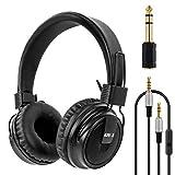 Headset Stereo Headphones Foldable Super Bass Full Sized Over-Ear Earphones for PC Phone By Kmise