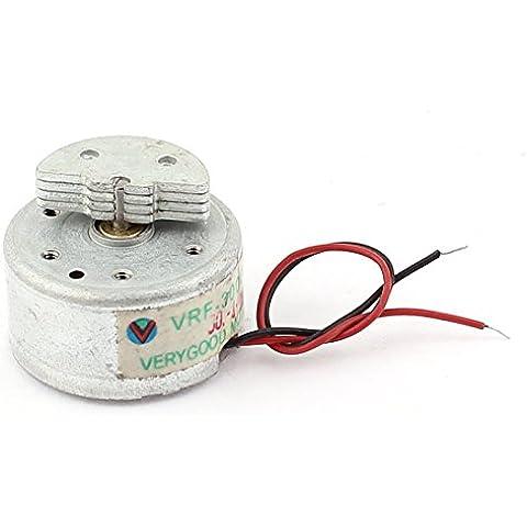 300 DC 3V 5000 rpm de velocidad de salida de reemplazo miniatura motor de la vibración