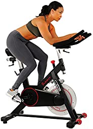 Sunny Health & Fitness Unisex Adult SF-B1805 Magnetic Indoor Cycling Bike - Black, One