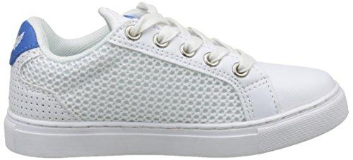 Kaporal Krislo, Baskets Basses Mixte Enfant Blanc (Blanc / Bleu)