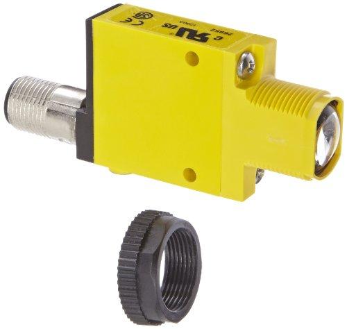 Banner SM31ELQD Mini Beam Fotoelektrischer Sensor, gegen Modus Emitter, Pin euro-style QD-Stecker, Infrarot-LED, 10-30VDC Supply Spannung, 30m Sensing Range