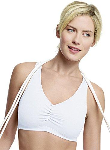 Hanes Comfortflex Fit® Soutien-gorge Comfortblend Blanc / Blanc