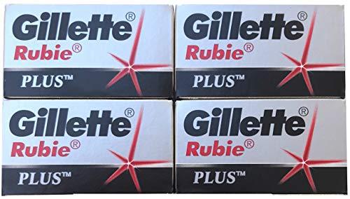 20 Gillẹtte Rubie Platinum Rasierklingen (Gillette Platinum)