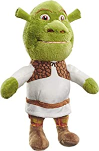 Schmidt Spiele 42713 DreamWorks - Peluche de Shrek (18 cm), Multicolor