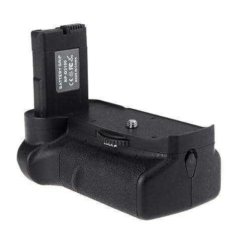 Andoer Batterie Vertical Holder Grip pour Nikon D3100 D3200 D3300 DSLR ¡