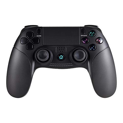 Jevogh GR61 Wireless Bluetooth PS4 Gamepad Joystick-Controller für PlayStation 4 / PS4 / PS3 / PC mit Dual-Vibrationsmotoren USB-Akku Dritteranbieter Produkt