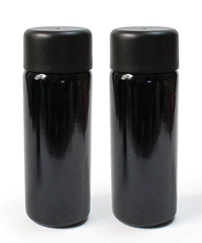 Botellas de vidrio ultravioleta de 100 ml de Naturkor, contenedores vacíos rellenables con tapa de rosca y tapón dispensador de spray, 2 unidades