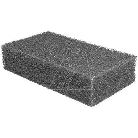 Filtro de espuma para Lawnboy Silver pro 10247Länge [mm]: 139, 7Breite [mm]: 76, [mm] 2Höhe: 31, 75Außen - [mm] Ø: interior - Ø [mm]: manguera - Ø [mm]: tema: conexiones: pieza según VE: identificador de la imagen: número leading: GVM-Info: