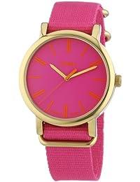 Timex Damen-Armbanduhr Originals Classic Round Analog Quarz Nylon T2P364