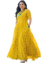 08004c9b7da Yellows Women s Kurtas   Kurtis  Buy Yellows Women s Kurtas   Kurtis ...