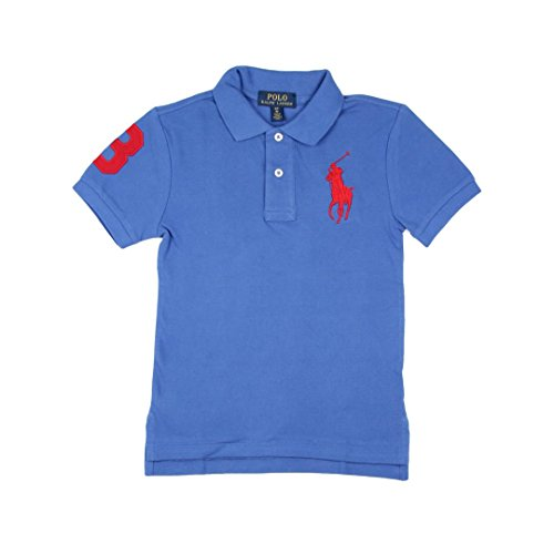 Ralph Lauren Childrenswear Polo in piqué di Cotone Custom-Fit Bambino Junior Boy Mod. 323694738 - Lauren Junior Polo-shirt Ralph
