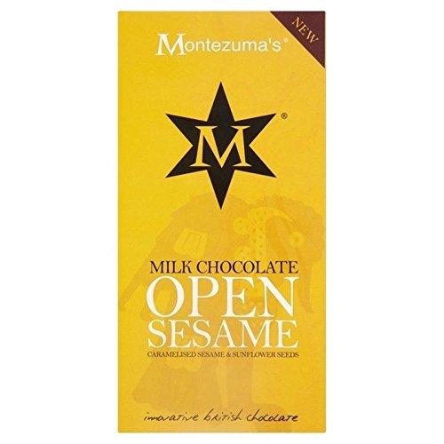 (montezuma' S Milch mit Sesam und Sonnenblumenkerne Bar 100g (Packung von 6))