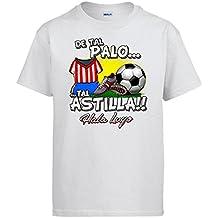 Camiseta de tal palo tal astilla Lugo fútbol