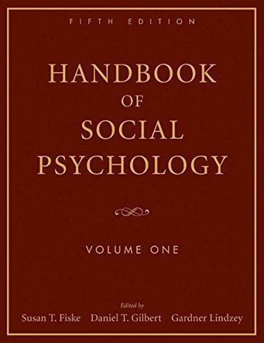 Handbook of Social Psychology: Volume One by Susan T. Fiske (2010-02-15)