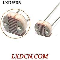 Fotorresistencia lxd5506/oscuro resistencia: 0.2mohm/luz resistencia: 2–8kOhm LDR 5mm Serie light-dependent resistencia