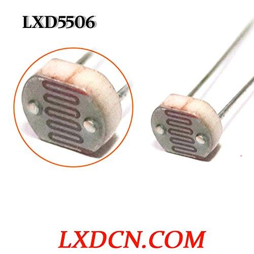 Fotowiderstand lxd5506/Dark Widerstand: 0.2mohm/Widerstand: 2–8kOhm 16.85mm Serie light-dependent Widerstand, 0