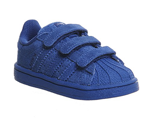 Adidas - Superstar C - S76615 - Color: Azul marino - Size: 28.0 x5l6STJX