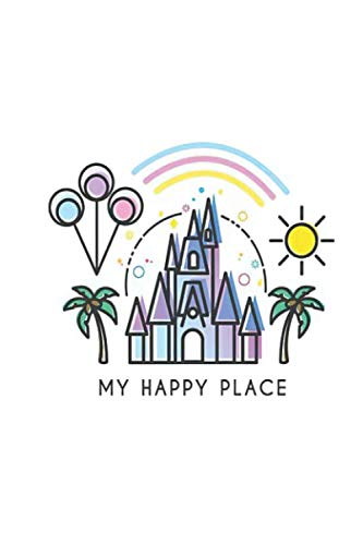 or Art Illustration Magic Princess Castle Wo Notebook, Journal for Writing, Size 6