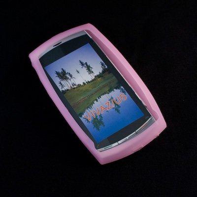Numerva Custodia in silicone per tutti i modelli in tutti i colori, rosa, Sony Ericsson: Vivaz U5 U 5