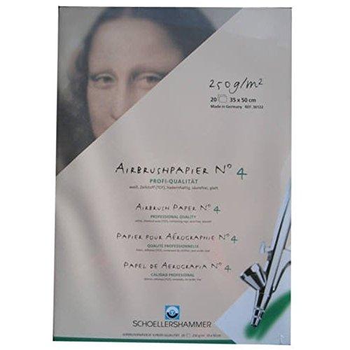 Schoellershammer Airbrush-Papier 35x50cm 30122