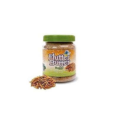 Flutter Butter Buggy Peanut Butter For Wild Birds (330g) (Pack of 4) from Flutter Butter