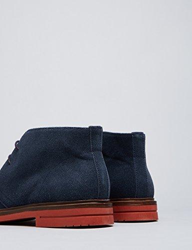 FIND Herren Desert-Boots Blau (Navy)
