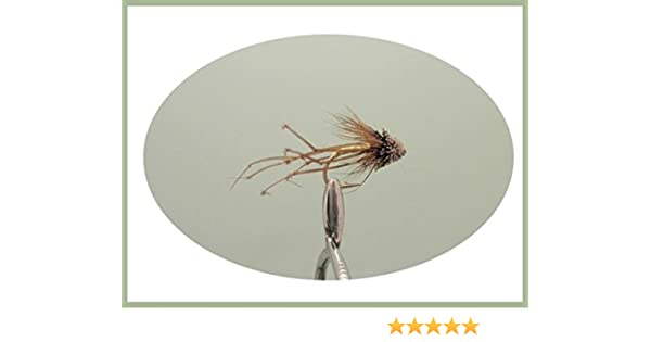 6 Pack Fishing Flies Mixed Size 10//12 Muddler Daddy Long Legs Trout Flies
