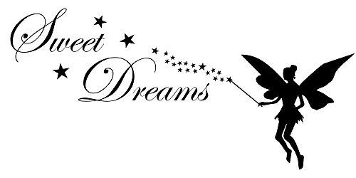 Wandtattoo Kinderzimmer Tinkerbell & Sweet Dreams