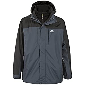 trespass faris men's 3-in-1 jacket