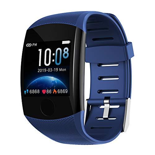 Fitness Armband mit Blutdruckmessung, Smartwatch Fitness Tracker Voller Touch Screen mit Pulsmesser Messgeräte Schrittzähler Uhr Sportuhr für iOS Android Handy