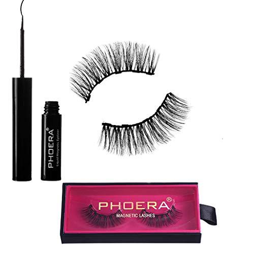 KEERADS BEAUTY Eyeliner liquide magnétique Phoera avec kit de faux cils magnétiques