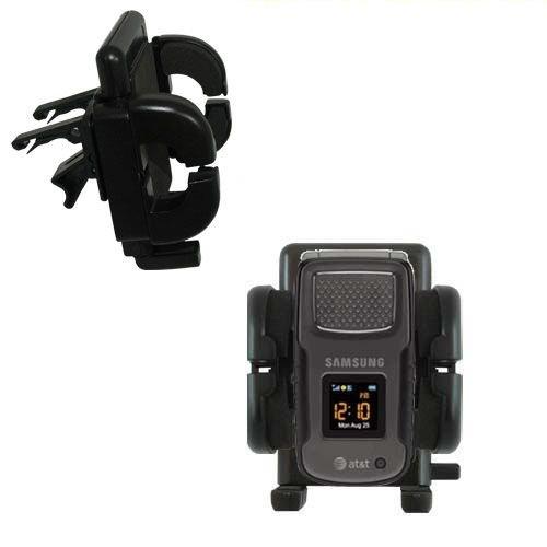 Mit Lüftungsklemme befestigter Cradle-Halter im Fahrzeug / Auto für das Samsung SGH-A837 mit Lebenslange Garantie