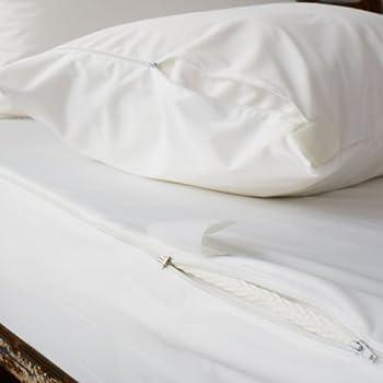 ultimate water resistant anti bed bug mattress encasement king