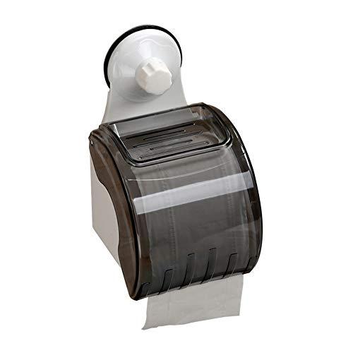 HCDMRE Papierhalter, an der Wand befestigter Seidenpapierkasten-Abdeckungs-Fall-Serviettenhalter an der Wand befestigter Selbstklebender mit Badezimmer für Küche - Traditionelle-badezimmer-eitelkeit-set