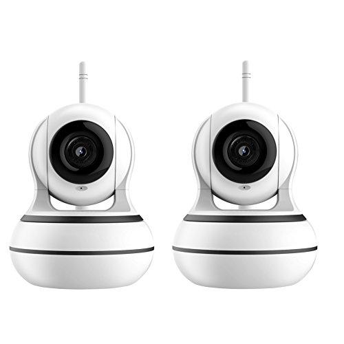 OMZBM Dome Kamera 360 ° Pan/95 ° Neigung Wireless IP Indoor-Sicherheit Überwachungssystem 960P HD, Auto-Cruise, Intelligente Fernbedienung Klimaanlage, Play Songs/Story,Two -