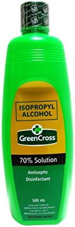 Green Cross Isopropyl Alcohol 70% Solution, 500ml