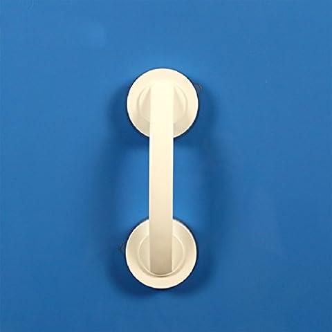KHSKXSuper ventosa de manija de puerta corrediza puerta corrediza de vidrio que brazo de la maneta de la puerta del baño-punch-libre,