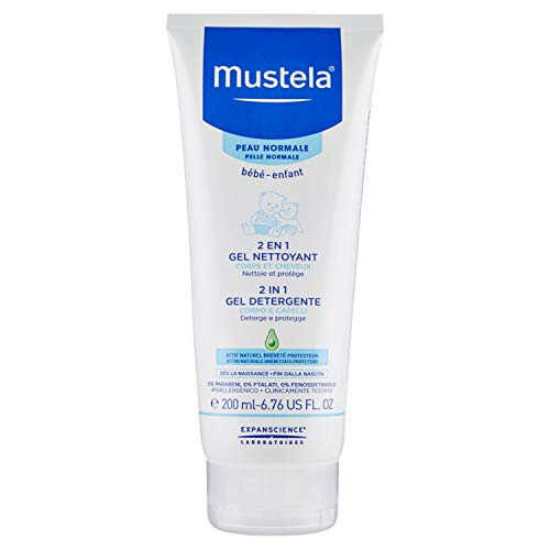 Mustela 2in1 Gel Detergente Corpo Capelli - 200 ml