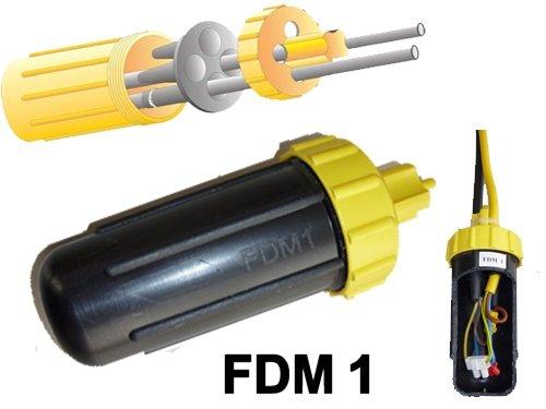 Preisvergleich Produktbild Friedl Abzweig Dosenmuffe, 4 Ausgänge IP68 1000V, FDM 1